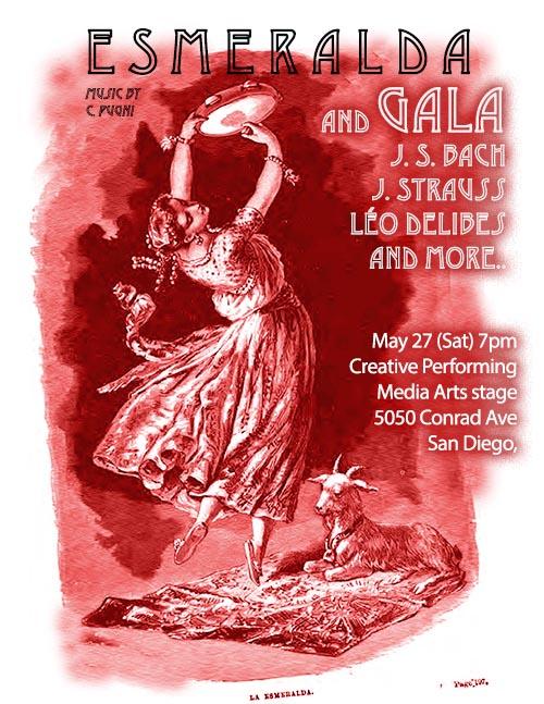 Esmeralda and Gala performance