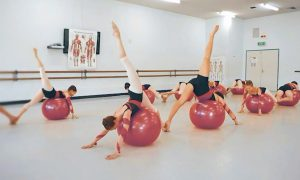 Progressing Ballet Technique class