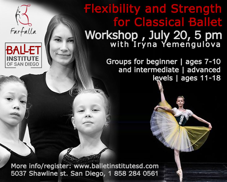 Flexibility and strength for classical ballet